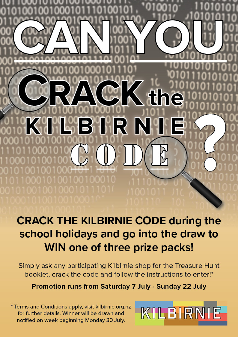 KBN Crack the Code POSTER A4